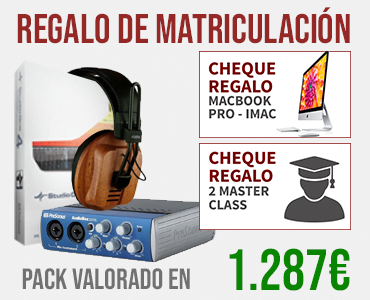 Mezcla y Master Interface de Audio Studio One 4 Regalo MasterClass Fostex