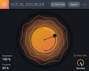 Vocal doubler de Izotope